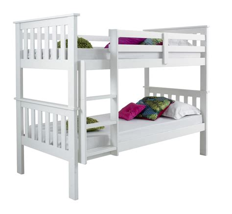 Wooden Bunk Beds With Mattresses Bluemoon Beds 3ft Atlantis Bunk Bed Solid Pine Wood 2x Luxury Mattress Bedroom Ebay