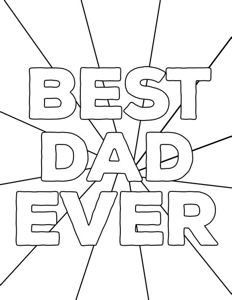 fathers day coloring sheets happy s day coloring pages free printables paper