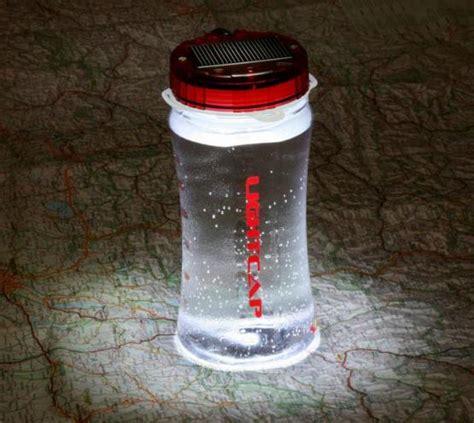 Lightcap300 Solar Powered Lantern And Water Bottle Water Bottle Solar Light