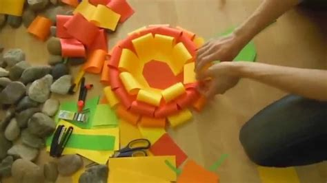 How To Make Waste Paper Flowers - waste paper crafts