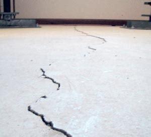 Floor Crack Repair   Basement and Foundation Floor Cracks