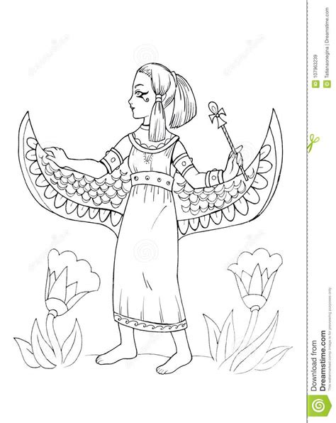egyptian princess coloring pages egyptian princess coloring pages page sketch coloring page