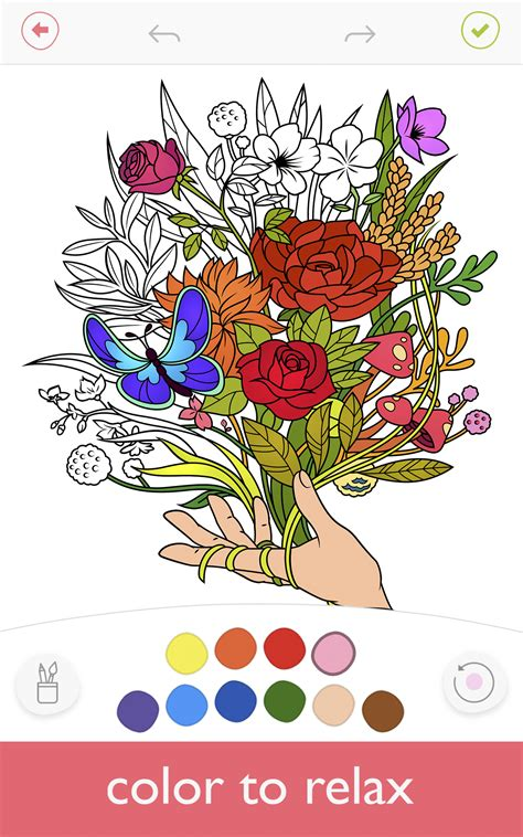 free coloring book apps colorfy coloring book for adults best free app