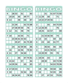 Bingo Card Template Free by Free Printable Bingo Card 7 Free Pdf Documents