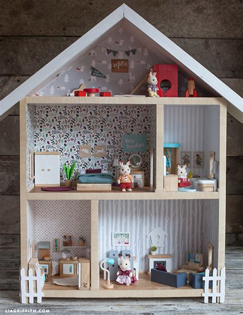 the dolls house builder give a home make your own dollhouse lia griffith