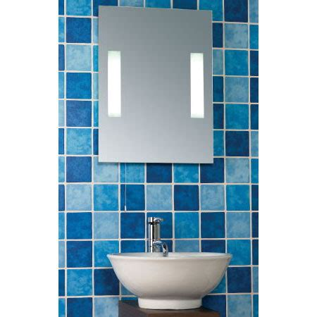 Cheap Bathroom Wall Mirrors Malvern Bathroom Mirror With Light Buy Bathroom Wall Mirrors Furnitureinfashion Uk