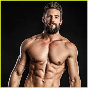 fifty shades' brant daugherty goes shirtless for hot new