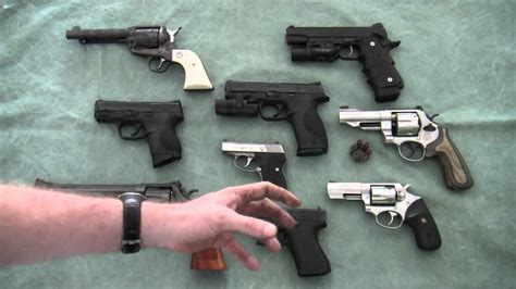 choosing a handgun for home defense