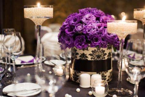 wedding centerpieces with flowers and candles candle decorations archives weddings romantique