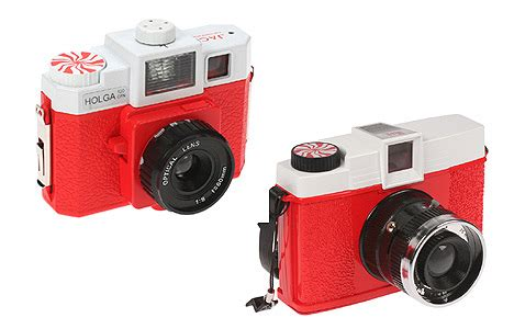 "the white stripes reimagine two classic ""toy"" cameras into"