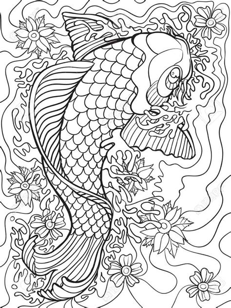 printable coloring pages for adults fish sensational coloring pages adults awesome free adult 62