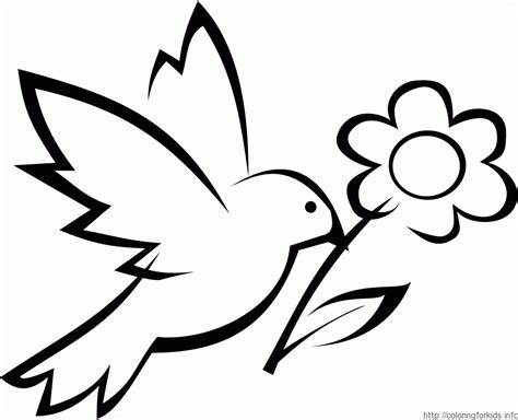 simple flower coloring pages coloring home easy flower color pages color bros