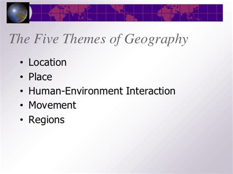 5 themes of geography washington state a geographer s world