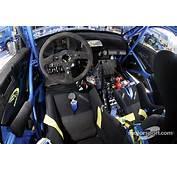 The Cockpit Of Petter Solbergs Subaru Impreza WRC04 At