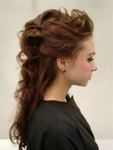 romantic hairstyles down 17 best images about half up half down bridal hairstyles