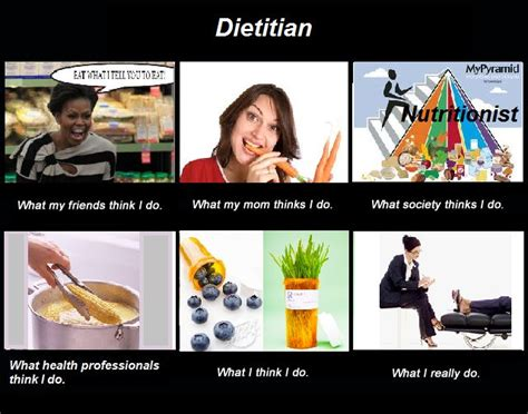 Dietitian Education And by Dietitian What I Really Do I This Many Of My Clients Teased Me About Not A