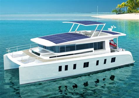 catamaran boat facts sunwave 54 solar catamaran