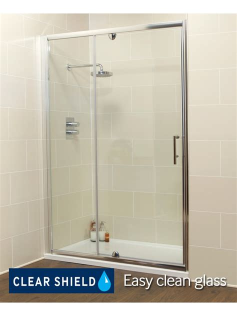 K2 1200 Pivot Inline Shower Enclosure Shower Door 1200