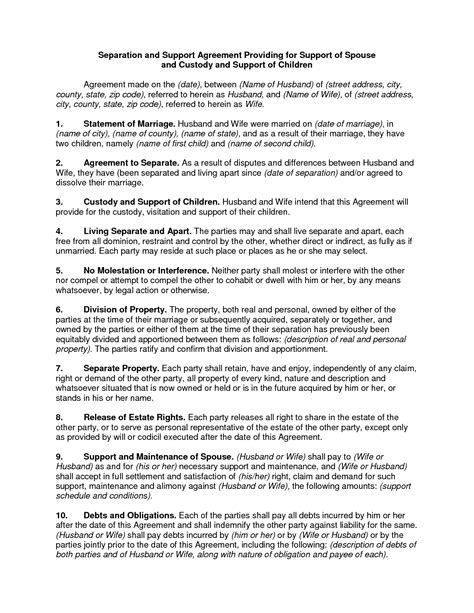 How To Write An Agreement Letter For Child Support Child Support Letter Child Support Agreement Letter Sle Child Support Agreement By