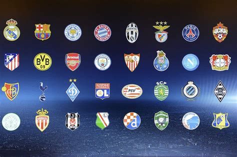 chions league draw 2016 chions league draw relive sorteggiati i gironi di