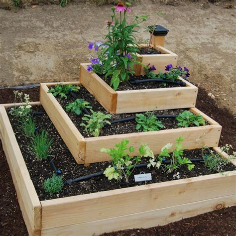 Raised Garden Layout Ideas 25 Best Ideas About Herb Garden Design On Pinterest Garden Plant Markers Recycling Plant And