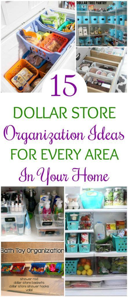 ideas to organize every area in your home 15 dollar store organization ideas for every area in your