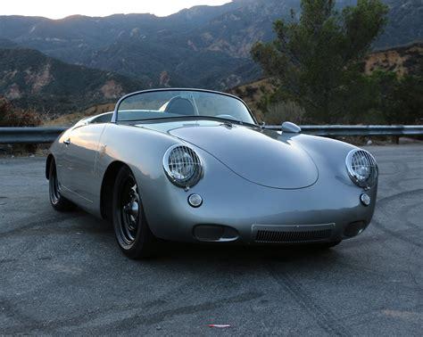 outlaw porsche emory outlaw 1960 porsche 356 roadster silver