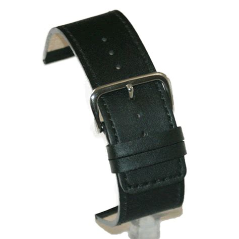Gunny Calf Leather 28mm 1 wide black calfskin leather 26mm 28mm