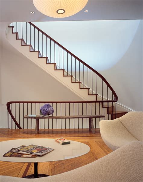 Townhouse Stairs Design Greenwich Townhouse Modern Staircase New York By Melander Architects Inc