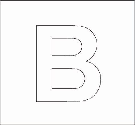 printable capital letter stencils alphabet stenncils page print your capital b stencil