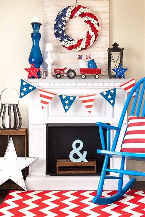 framed art diy decorating for july 4th celebrating holidays 14 fabulous diy 4th of july decorations you can copy right now