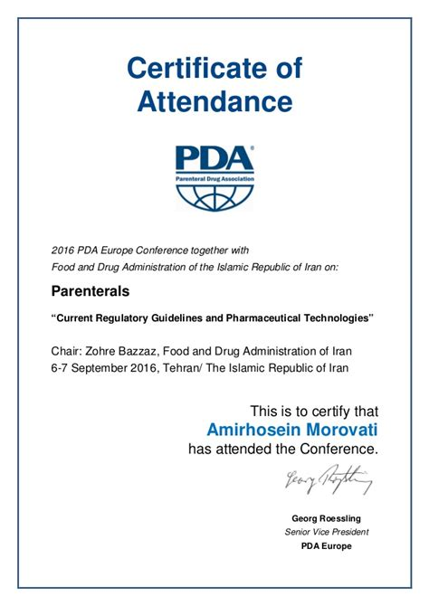 conference certificate of attendance template certificate of attendance pictures to pin on