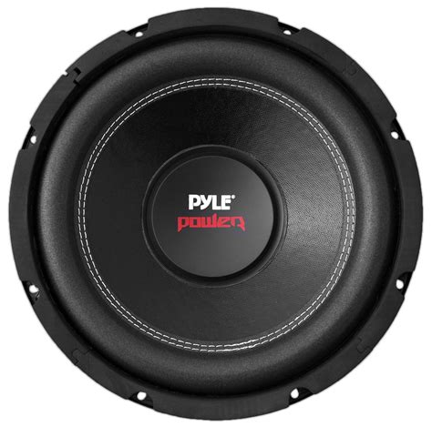 Subwoofer 10 Dual Coil Rogers pyle plpw6d marine and waterproof vehicle subwoofers