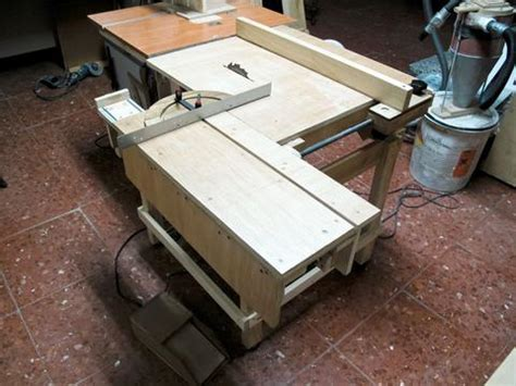 see saw bench lucas contreras s homemade table saw