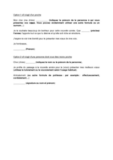 Modeles Lettres De Voeux Gratuites Modele Voeux Nouvelle Annee Gratuit Document