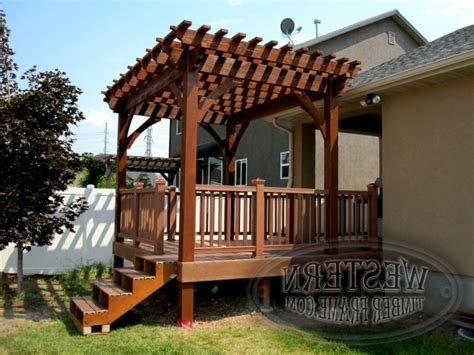 How To Build A Freestanding Pergola On A Deck Pergola Building A Freestanding Pergola