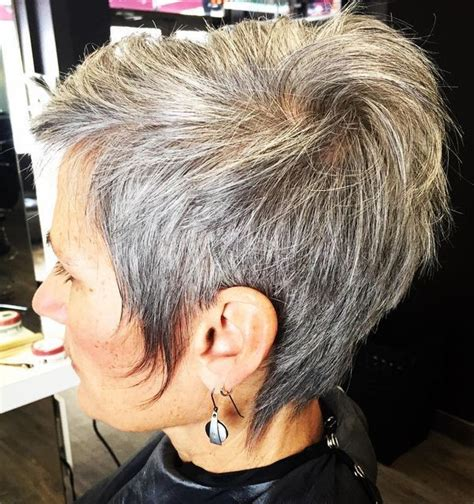 how to get gorgeous salt and pepper hair 279 best images about short cuts on pinterest shorts