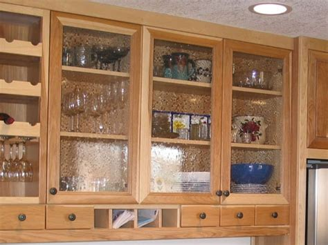 Seeded Glass For Kitchen Cabinets For The Home