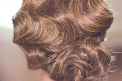 Finger Wave Updo Hairstyles by Vintage Fingerwave Updo Hairfluence