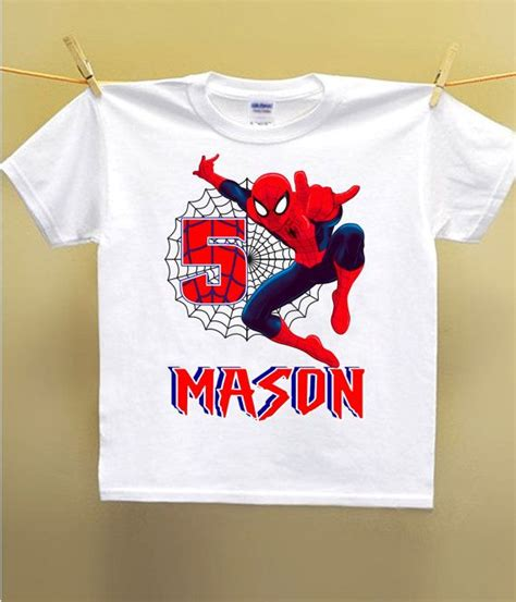 Spider Shirt Shirt For Birthday 34 Best Birthday Images On Spider Birthday Spiders And Spider