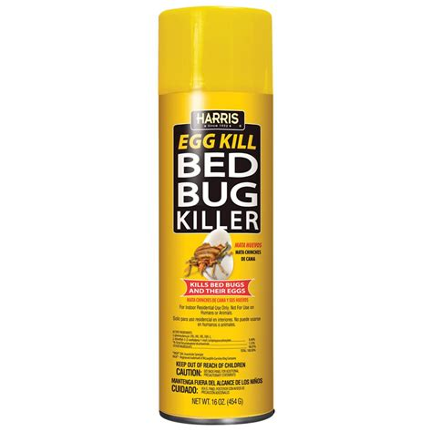 bed bug aerosol egg kill pf harris approved  luggage clothes