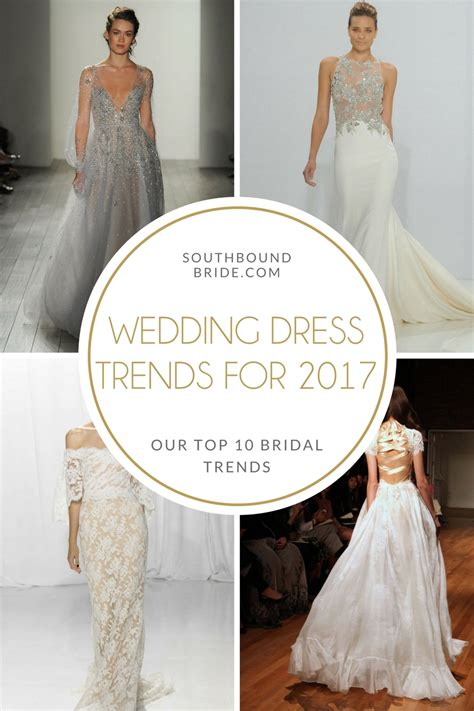 top 10 wedding trends for 2016 southbound top 10 wedding dress trends for 2017 southbound