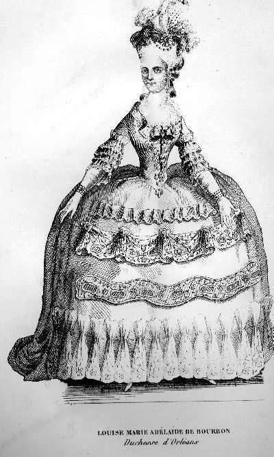 Louise Marie Adelaide de Bourbon by Paul Lacroix   Grand