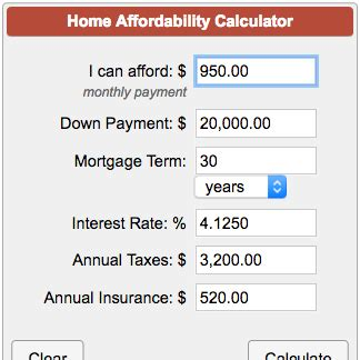 how much to insure house for calculator how much house can i afford