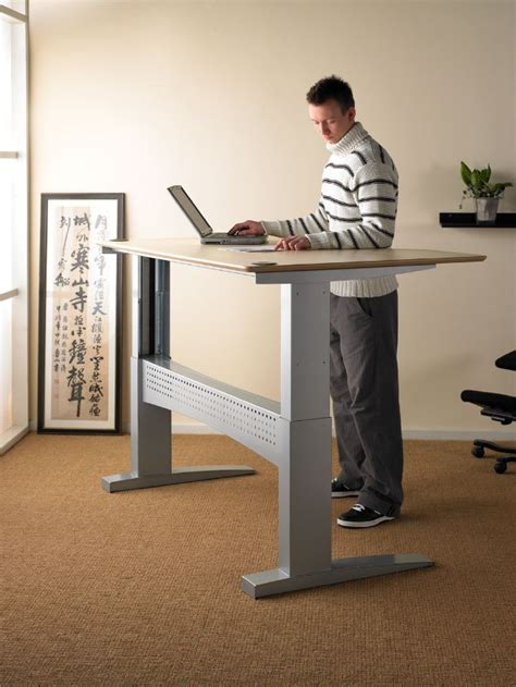 Motorized Adjustable Height Desk by Height Adjustable Desk Uk Standing Desk