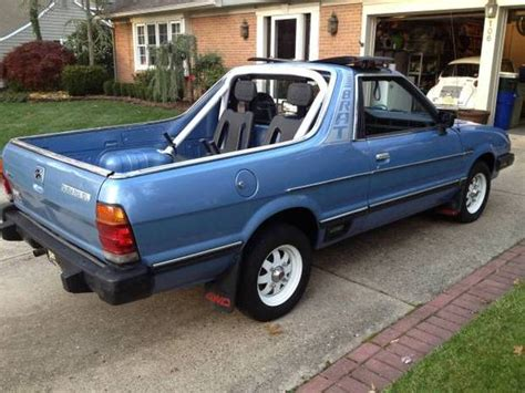 1993 subaru brat for sale nice looking driver 1984 subaru brat bring a trailer