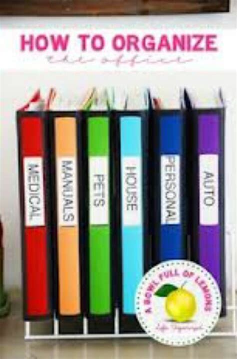home organization binder organize with binders organized home pinterest