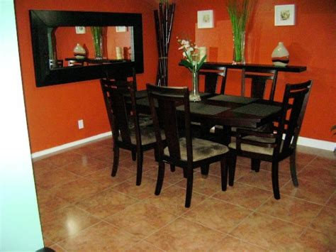 burnt orange dining room information about rate my space questions for hgtv com