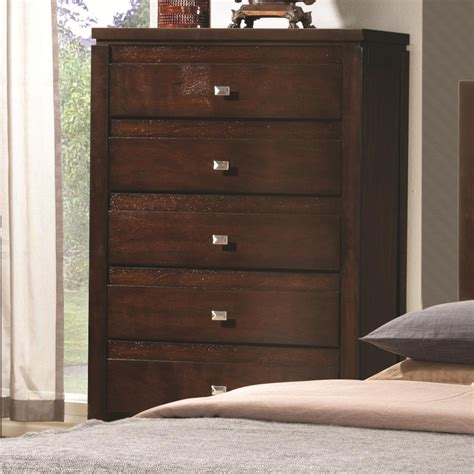 coaster 203495 brown wood chest of drawers a sofa