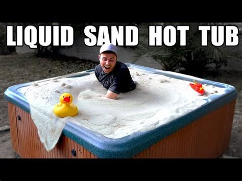liquid sand hot tub fluidized air bed